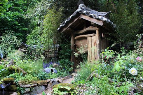 Au fond du jardin, une idée du jardin Zen - Place des Jardins